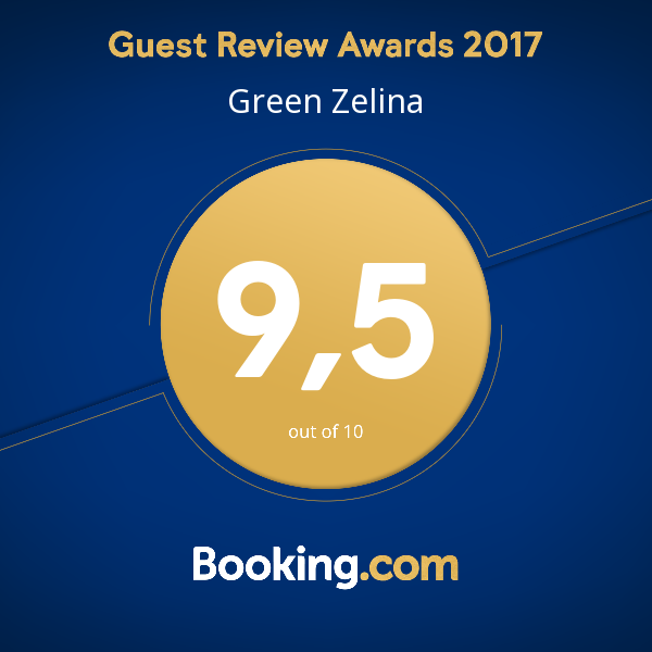 booking com award green zelina